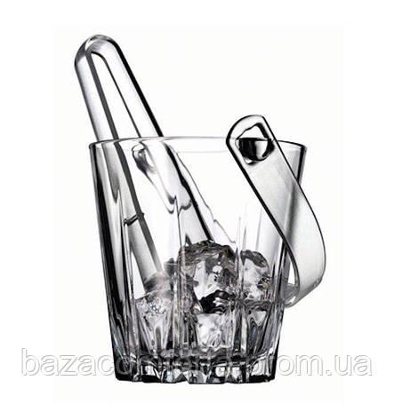 Ведерко и щипцы для льда h=130мм Karat 53588 (1шт), фото 2