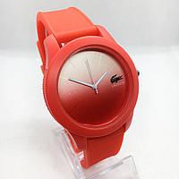 Женские наручные часы Lacoste (Лакост) с градиентом, красный цвет ( код: IBW383R ), фото 1