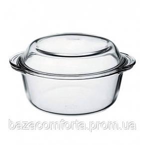 Кастрюля для запекания круглая Borcam 3150мл 59013 (1шт), фото 2
