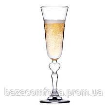 Набір келихів для шампанського 190мл Romance 440261 (2шт)
