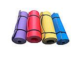 Каремат сине-зеленый, двуслойный, двуцветный т. 10 мм, размер 60х180 см, Производитель Украина, TERMOIZOL®, фото 2