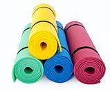 Каремат сине-зеленый, двуслойный, двуцветный т. 10 мм, размер 60х180 см, Производитель Украина, TERMOIZOL®, фото 4