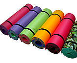 Каремат сине-зеленый, двуслойный, двуцветный т. 10 мм, размер 60х180 см, Производитель Украина, TERMOIZOL®, фото 5