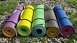 Каремат сине-зеленый, двуслойный, двуцветный т. 10 мм, размер 60х180 см, Производитель Украина, TERMOIZOL®, фото 6