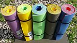 Каремат сине-зеленый, двуслойный, двуцветный т. 10 мм, размер 60х180 см, Производитель Украина, TERMOIZOL®, фото 7