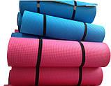 Каремат сине-зеленый, двуслойный, двуцветный т. 10 мм, размер 60х180 см, Производитель Украина, TERMOIZOL®, фото 8