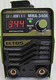 Зварювальний апарат Eltos ММА-340К (дисплей, 340 А), фото 9