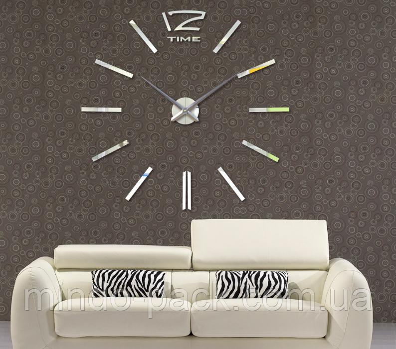 Декоративні годинник Woow white (D=1м)