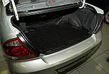 Коврик в багажник  NISSAN Almera Classic 2006- сед. (полиуретан), фото 2