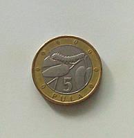 5 пул Ботсвана 2007 г., фото 1