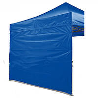 Боковая стенка на шатер - 12 м ( 3 стенки на 3*6 или 4 стенки на 3*3) синяя