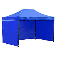 Боковая стенка на шатер - 7м ( 3 стенки на 2*3) синяя, фото 1