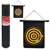 Дартс магнитный двухсторонний в тубусе, Оригинальные подарки