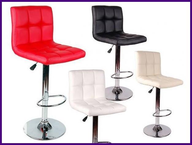 "Барный стул HOKER  MONZO  с Подставкой для ног(120 кг нагрузка)"""