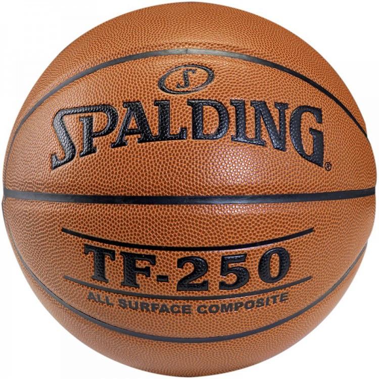 Мяч баскетбольный Spalding TF-250 IN/OUT размер 6, 7 композитная кожа