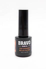 Bravo Top Shining No UV Filter No Wipe топ без уф фільтра без липкого шару 10 мл