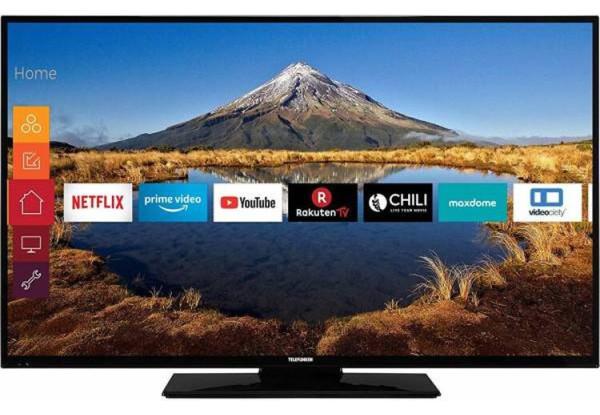 Телевизор Telefunken XF43G511 ( Full HD / 600Hz / Wi-Fi / Android / Smart TV / DVB-T/C/S/S2)