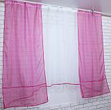 Комплект на кухню, тюль и шторки №51, Цвет малиновый, фото 4