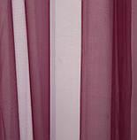 Тюль фатин, однотонный, цвет бордовый. Код 089тф, фото 4