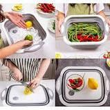 Доска-миска разделочная складная универсальная Kitchen Craft, фото 4