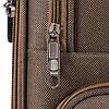 Комплект текстильных чемоданов на 2-х колесах Wings 1605  с расширителем, черного цвета, фото 4
