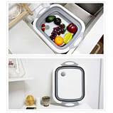 Доска-миска разделочная складная универсальная Kitchen Craft, фото 5