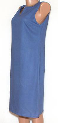 Молодіжний літній сарафан льняний 44-50, фото 3