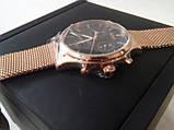 Часы наручные мужские Hugo Boss Companion Black Face Gold Chronograph Mens Watch HB 1513548, фото 4