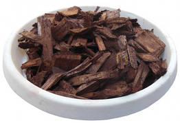 Щепа (тріска) декоративна кольорова, 50л, коричнева, квадратна
