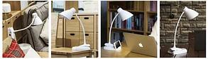 Аккумуляторная настольная LED лампа Remax RT-E500 Белая, фото 2