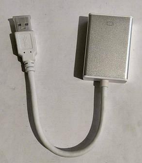Адаптер перехідник USB\HDMI White, фото 2