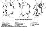 Котел Неус Економ плюс 16 квт з автоматикою 5 мм та безкоштовна доставка, фото 9