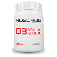 Nosorig Vitamin D3 2000 IU, 100 таб