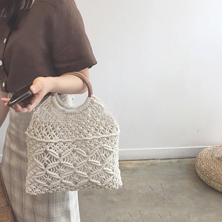 Сумка авоська плетенная Diana (Белый)