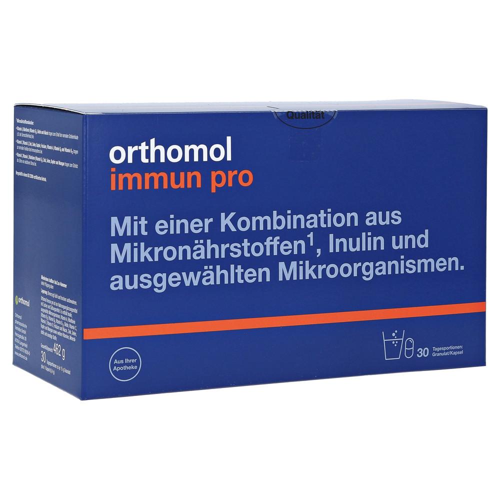 Orthomol Immun Pro, Ортомол Імун Про 30 днів (порошок/капсули)