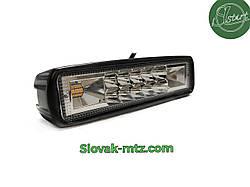 Светодиодная LED фара 20Вт  (светодиоды 2w x10шт +Стробоскопы ) Широкий луч