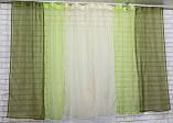 Комплект кухонные шторки с подвязками №54, фото 2