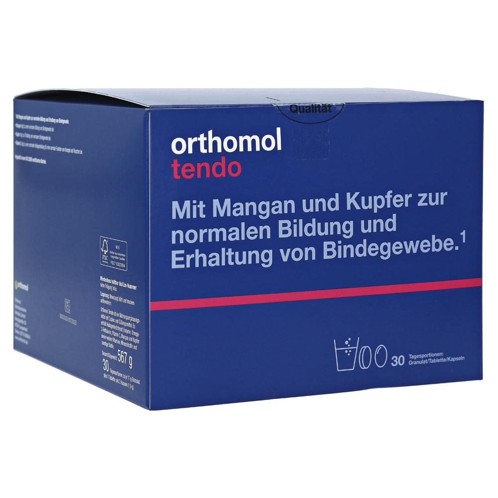 Orthomol Tendo, Ортомол Тендо 30 дней (порошок/таблетки/капсулы)