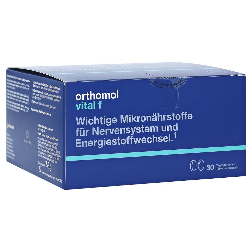 Orthomol Vital F, Ортомол Витал Ф 30 дней (капсулы/таблетки)