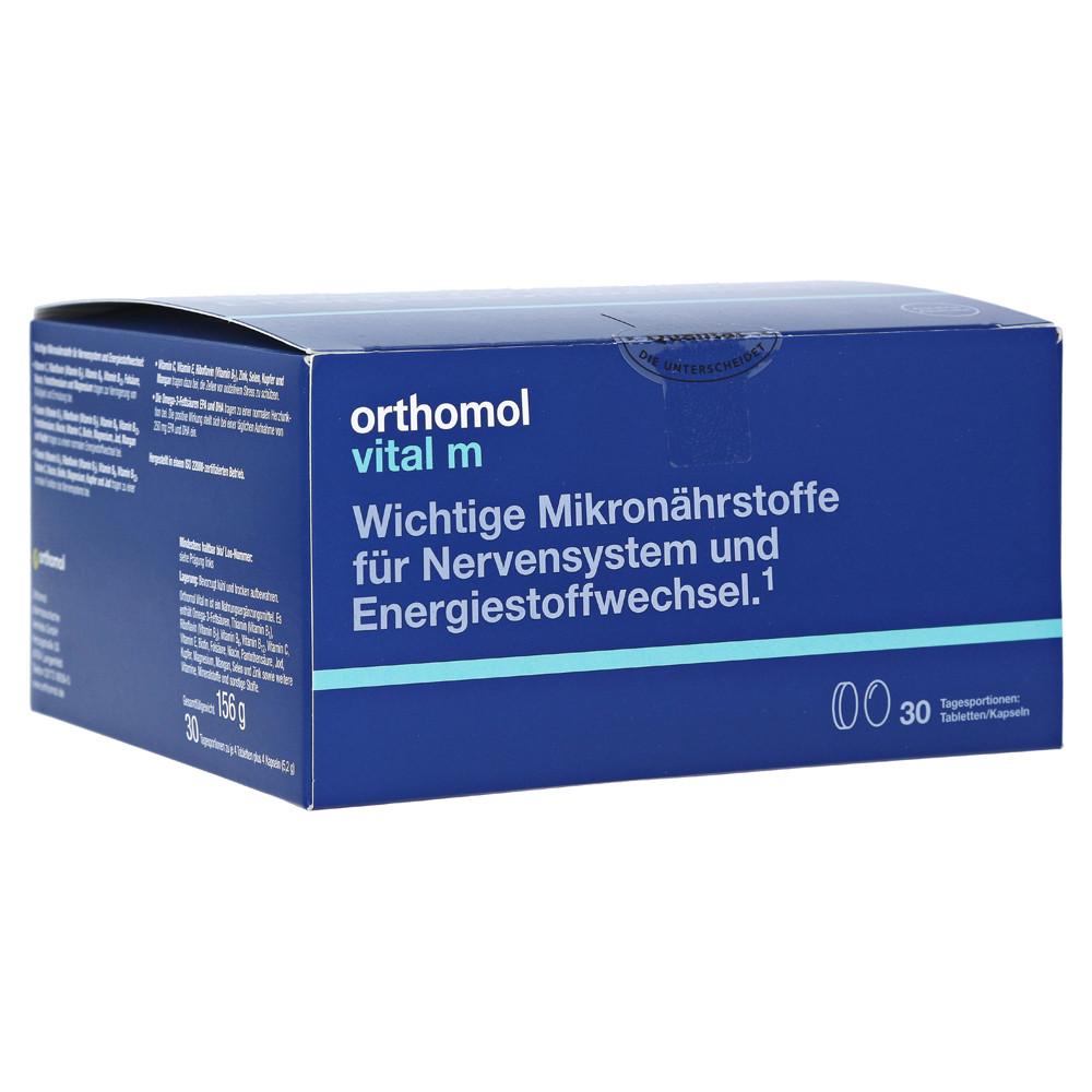 Orthomol Vital M, Ортомол Витав М 30 днів (таблетки/капсули)