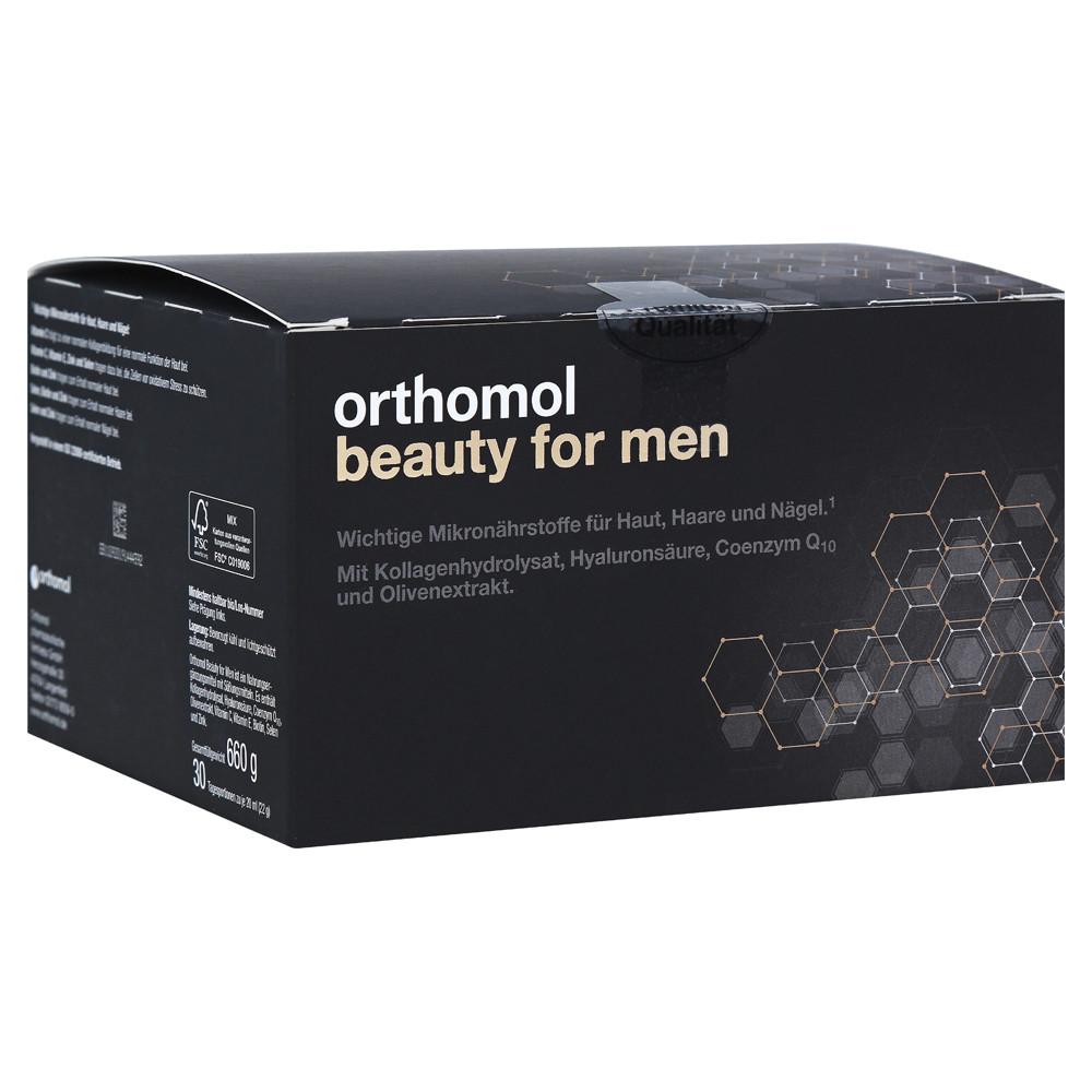 Оrthomol Beauty for Men, Ортомол Бьюти для мужчин, 30 дней