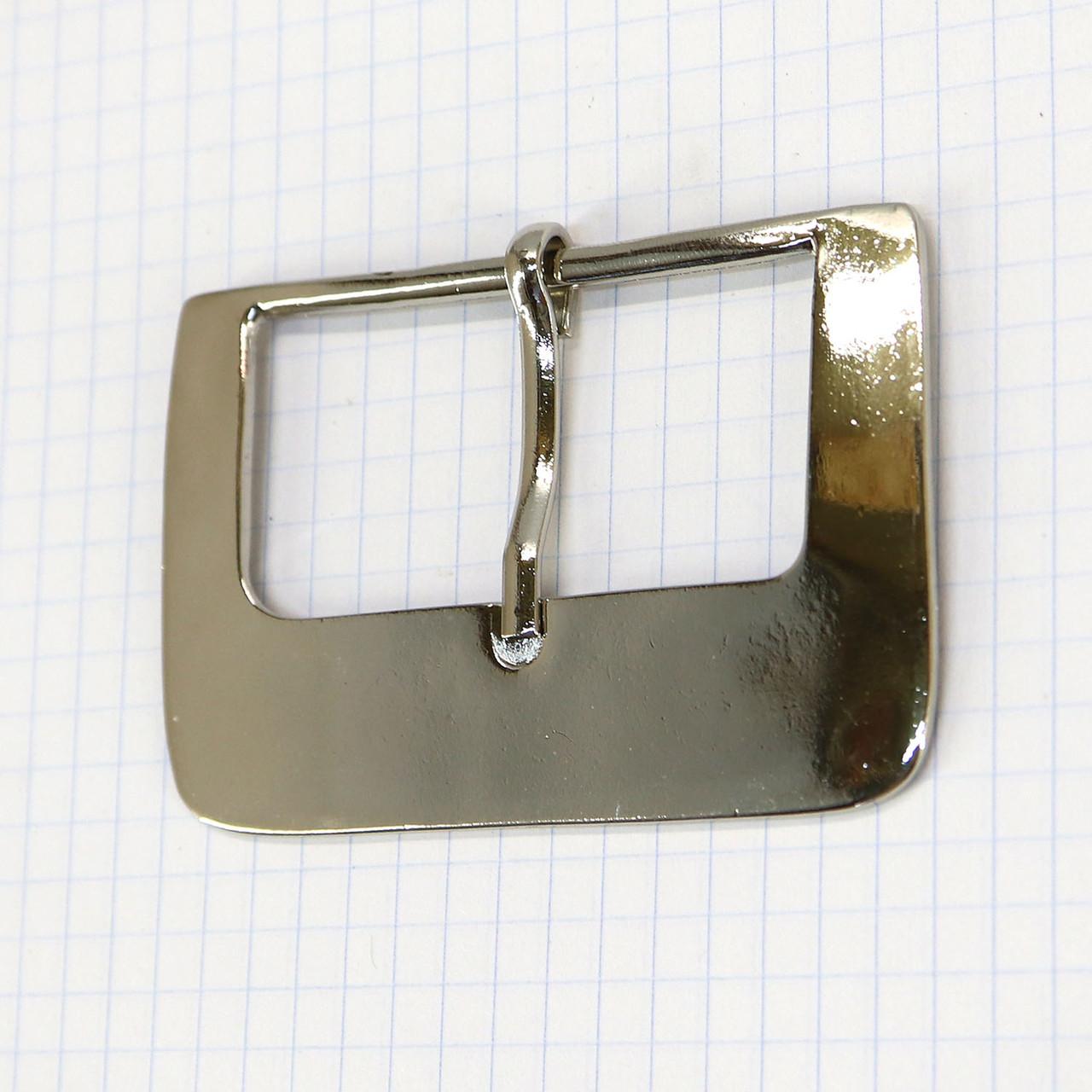 Пряжка 56 мм никель для сумок t4746 (3 шт.)