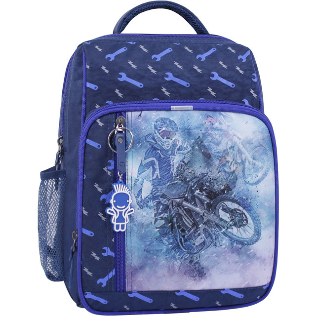 Рюкзак школьный 8 л. синий 534 (0012870)