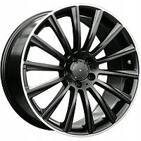 Литые диски Replica Mercedes (MR866) R19 W8.5 PCD5x112 ET38 DIA66.6 (MBLP)