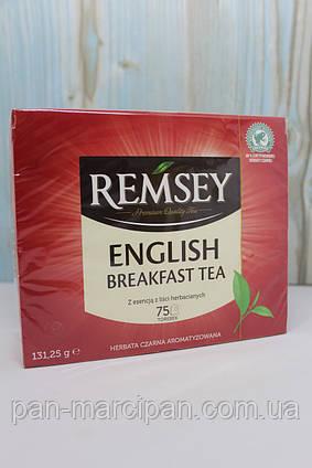 Чай пакетований Remsey English Breakfast 75 шт