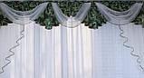 Ламбрекен из плотной ткани №68 Цвет зеленый. Код: 068л127 (А), фото 2