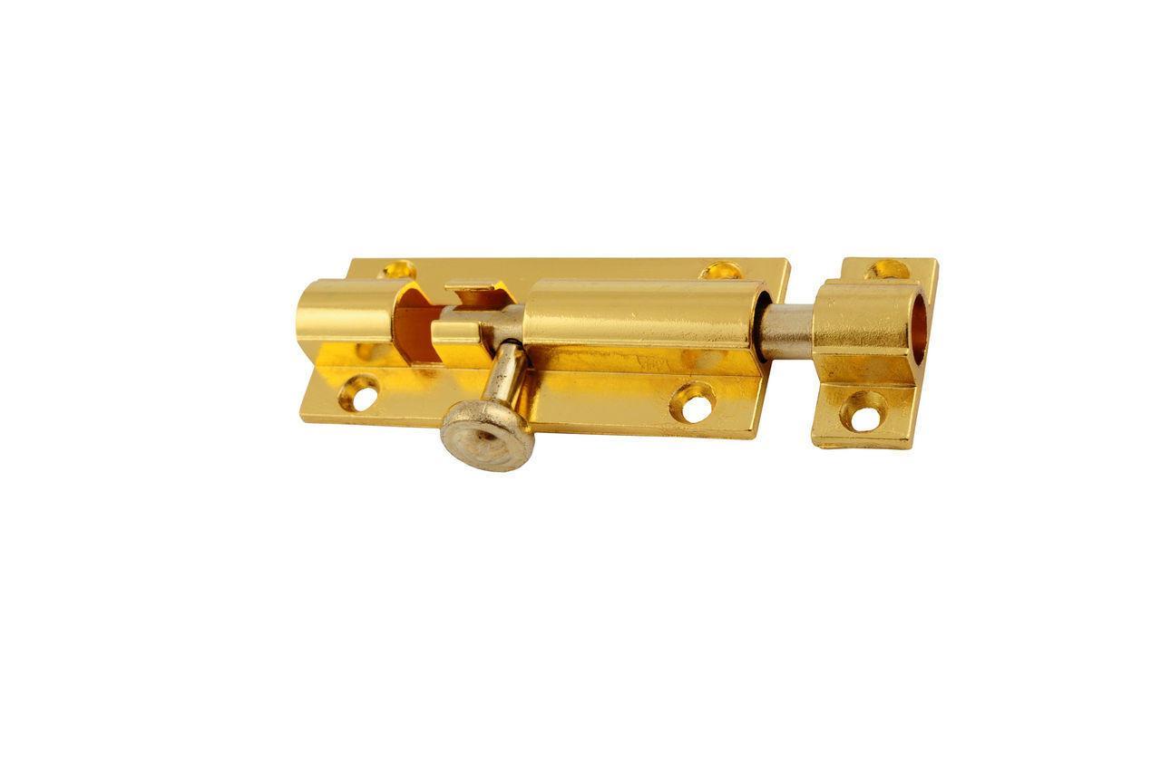 Шпингалет FZB - Лида большой РВ, 11 х 3 см (золото)