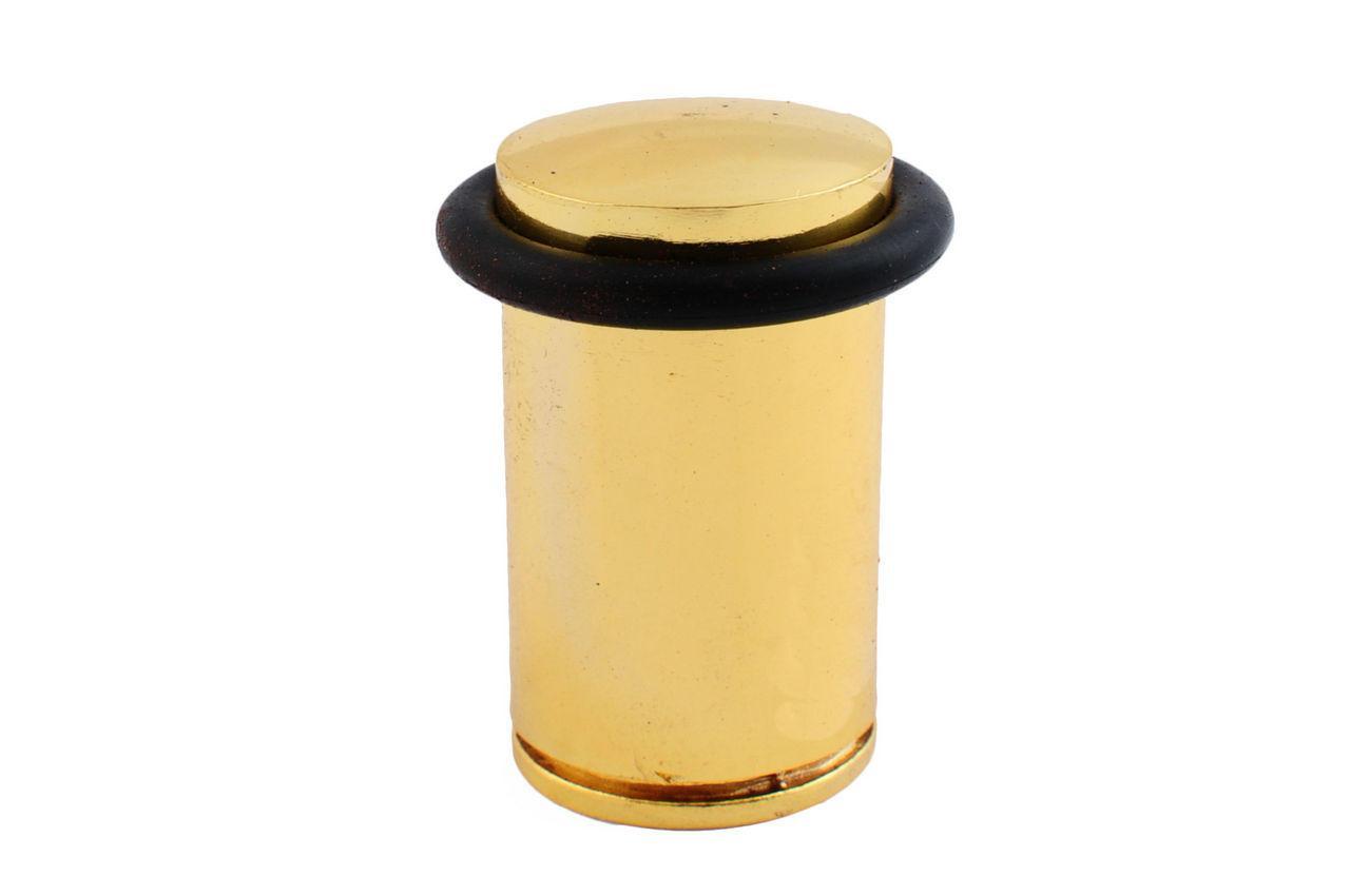 Упор дверной FZB - бочка 60 мм, РВ (золото)