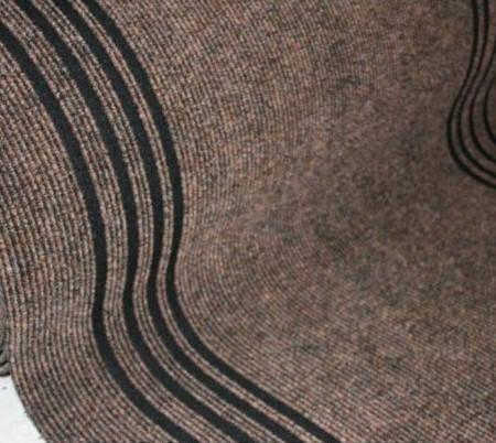 Дорожка Sintelon Staze Urb 711 коричневый ширина 1.2 м, фото 2