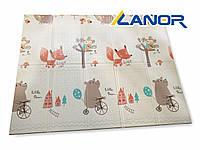 Детский двухсторонний коврик XPE Baby Play Mat 200x150x1см, фото 1